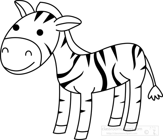 zebra-black-white-outline-clipart.jpg