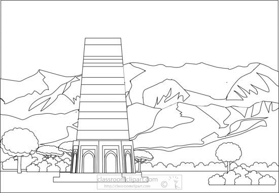 burana-tower-kyrgyzstan-black-white-outline-clipart.jpg