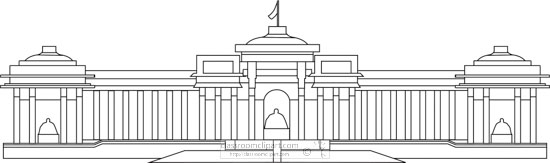 parliament-building-mongolia-black-white-outline-clipart.jpg