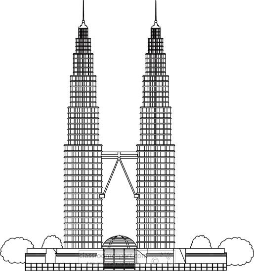 petronas-towers-malaysia-black-white-outline-clipart.jpg