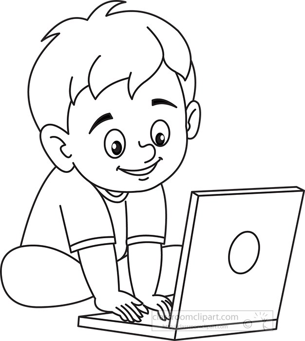 smiling-little-boy-playing-on--laptop-computer-black-outline-clipart.jpg