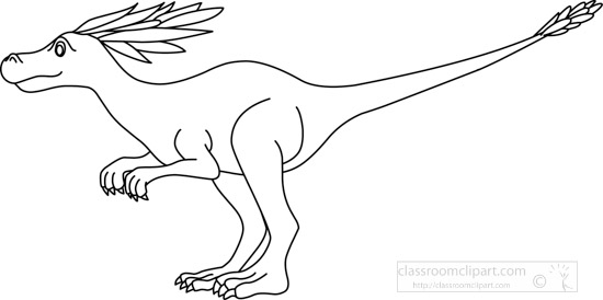syntarsus_dinosuar_clipart_09A_outline.jpg