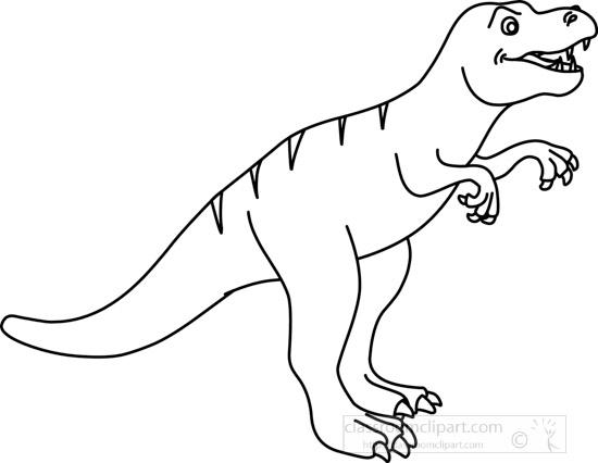 tryannosaurus_clipart_05C_outline.jpg