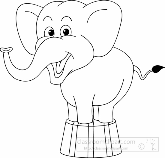 black-white-elephant-in-circus-black-white-clipart.jpg