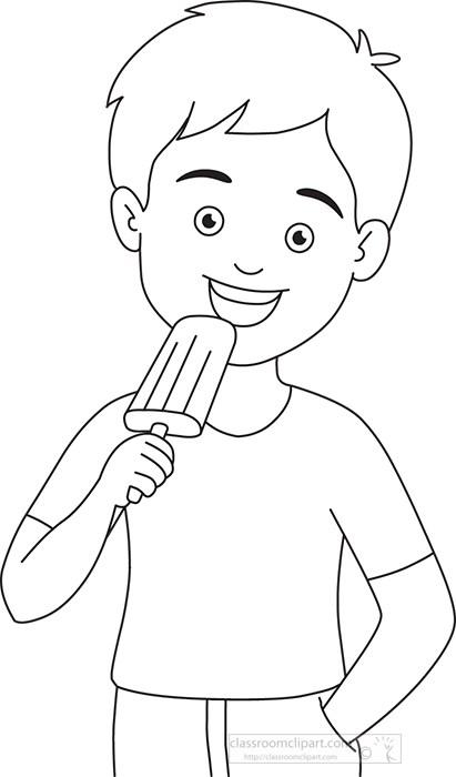 boy-eating-popsicle-icecream-black-outline-clipart.jpg