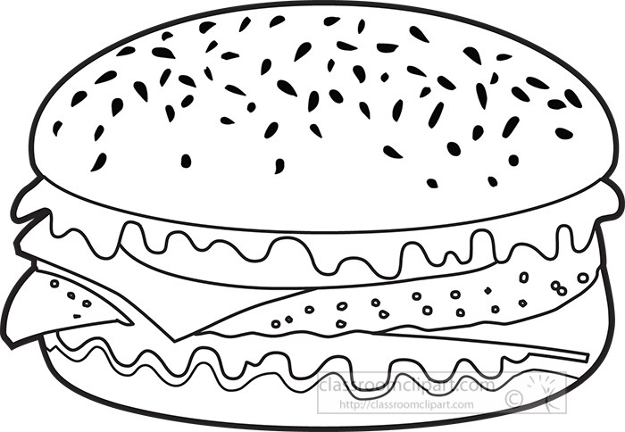 cheese-hamburger-clipart-outline-clipart.jpg