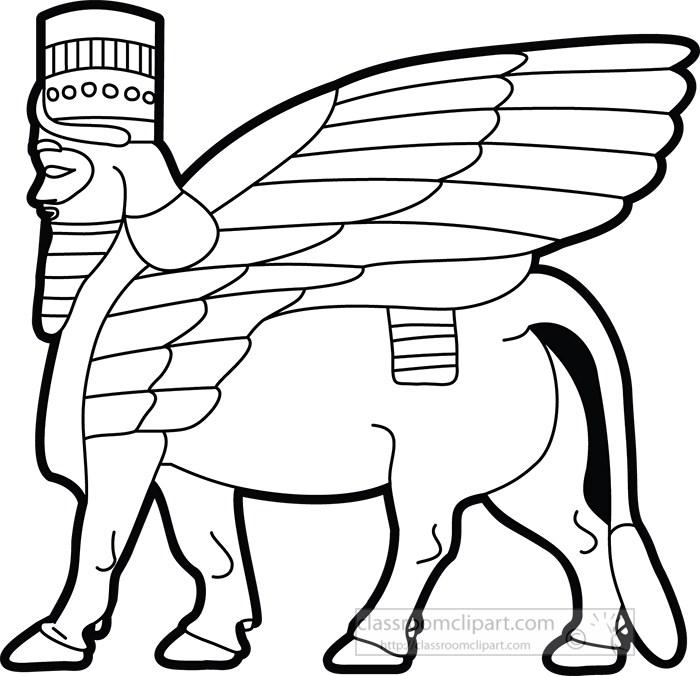 sumerian-winged-animal-lack-white-outline-clipart.jpg