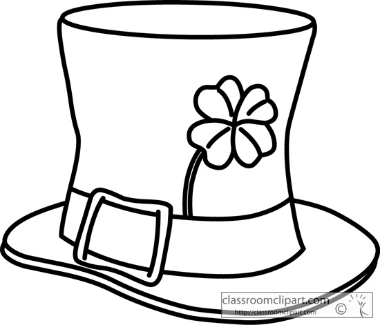 st patricks_day_hat_outline_2131.jpg