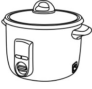 stove clipart black and white. click to view stove clipart black and white