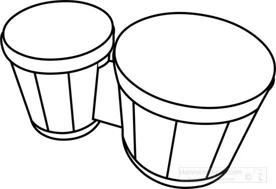 bongo-drums-musical-instrument-black-white-outline-clipart-160916.jpg