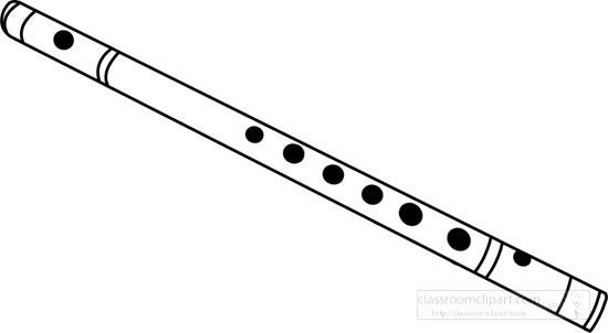 flute-musical-instrument-black-white-outline-clipart-14097.jpg