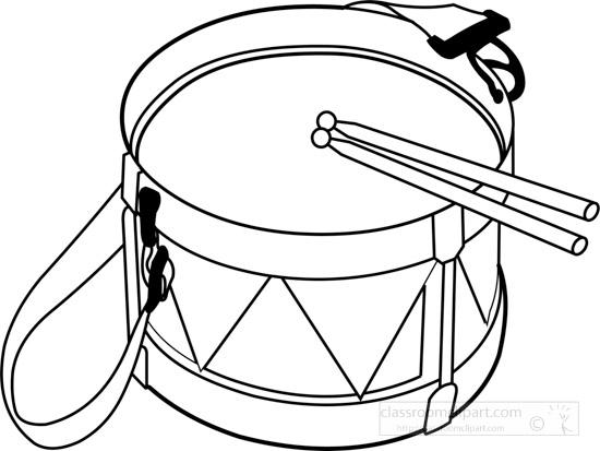 tabor-drum-musical-instrument-black-white-outline-clipart-16098.jpg