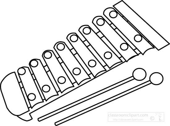 xylophone-musical-instrument-black-white-outline-clipart-140914.jpg