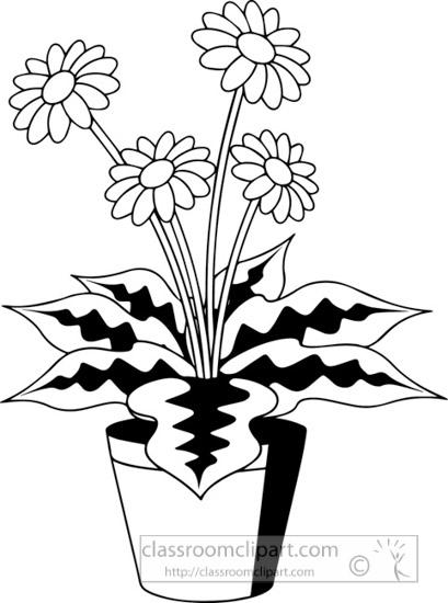 black-white-plant-with-flower-clipart.jpg