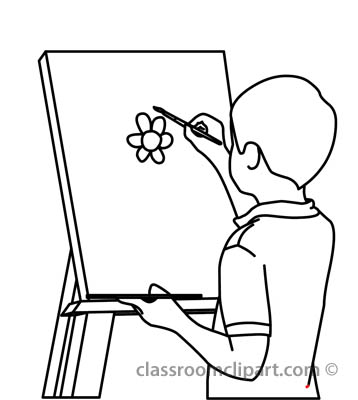 Clipart Of Easel. Clipart. Free Image About Wiring Diagram ...