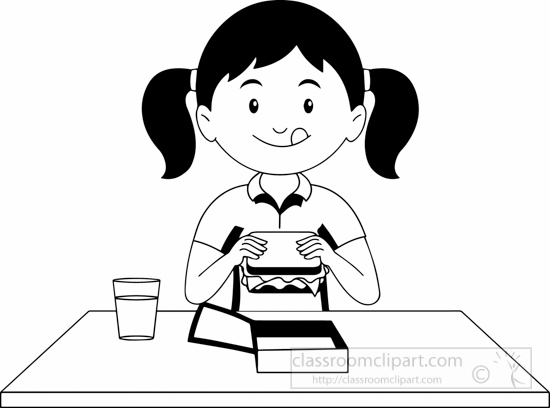 black-white-girl-having-snacks-clipart.jpg