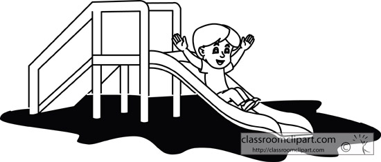 boy_going_down_playground_slide_outline.jpg
