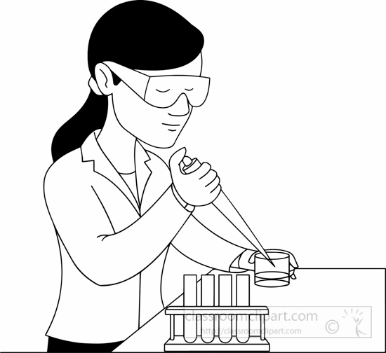 Science Clipart- black...