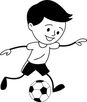 Free Black And White Sports Outline Clipart Clip Art Pictures Graphics Illustrations