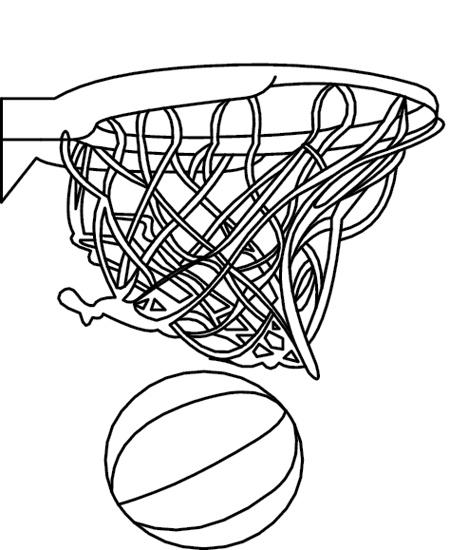 Sports Clipart- basketball_hoop_411D - Classroom Clipart