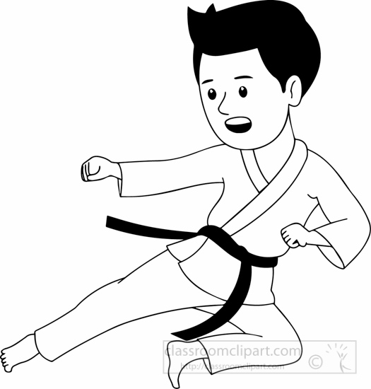 black-white-boy-practicing-karate-clipart.jpg