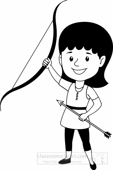 black-white-girl-lifting-bow-and-arrow-archery-clipart.jpg
