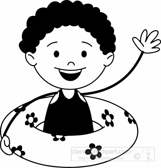 black-white-summer-sports-kid-with-airtube-in-pool-clipart.jpg