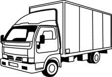 free black and white transportation outline clipart clip art rh classroomclipart com garbage truck clipart black and white free black and white dump truck clip art