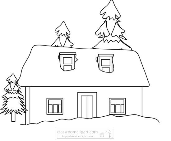 winter-snow-house-trees-bw-outline-clipart.jpg