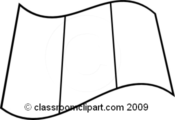 World Flags : France_flag_BW : Classroom Clipart