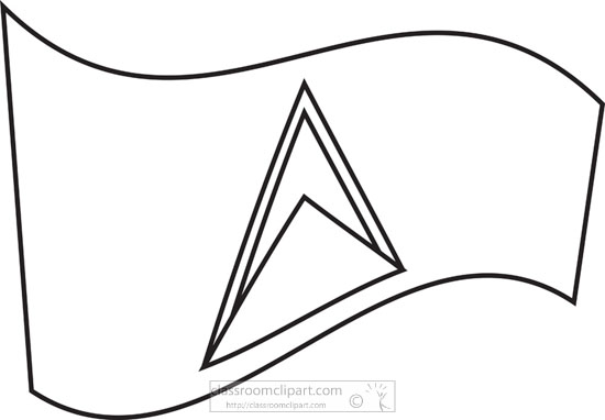 flag-of-saint-lucia-black-white-outline-clipart.jpg