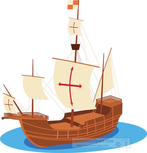 santa-maria-boat-clipart.jpg