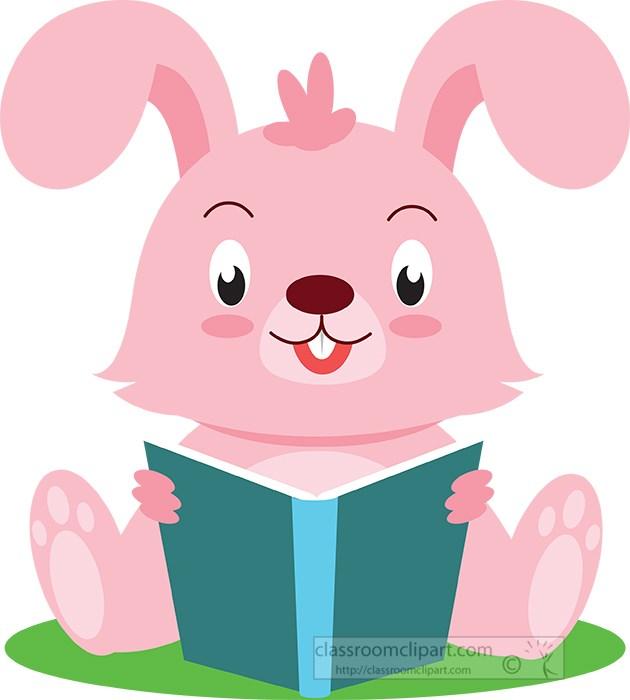 cute-pink-rabbit-reading-book-clipart.jpg