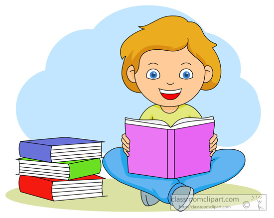 clipart reading a book - photo #19