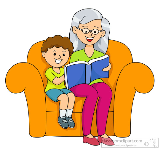 Granny reading a bedtime story Part 4 7