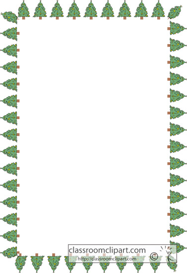 Download christmas tree border squareChristmas Tree Border