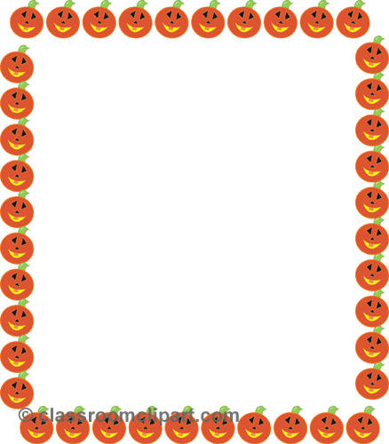Halloween Border Clip Art Free Galleryhipcom The