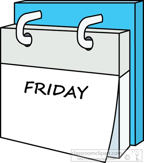 day calendar friday -#main