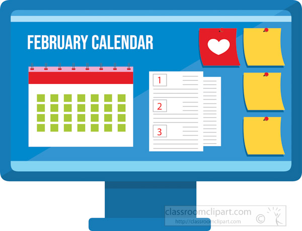 february-calendar-with-post-notes-on-computer-screen-clipart.jpg