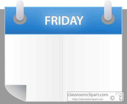 day calendar friday - photo #1