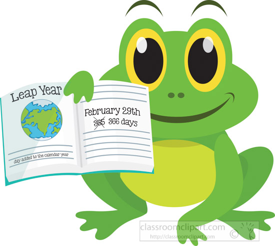 little-cute-green-frog-holding-leap-year-information-clipart.jpg