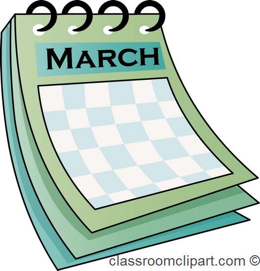 Calendar : march_calendar_712 : Classroom Clipart