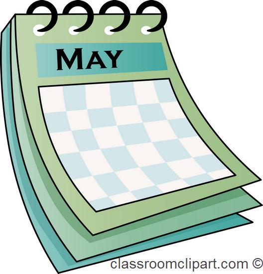 May Calendar Graphics : Calendar may classroom clipart
