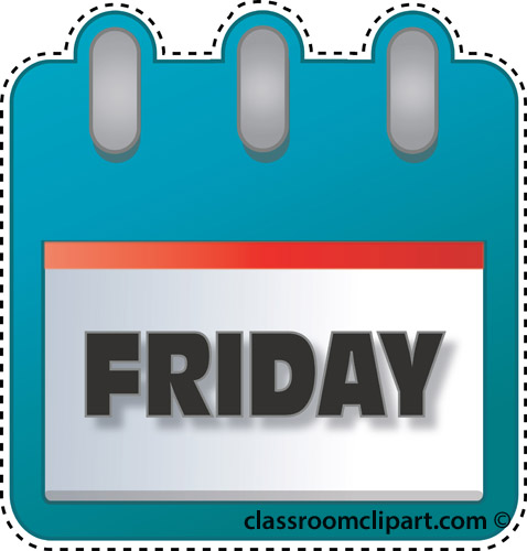 Image result for Friday clipart