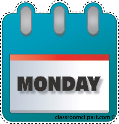 Image result for monday clip art