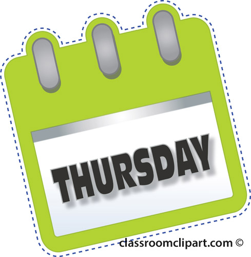 Thursday Calendar Search results - search results for thursday ...