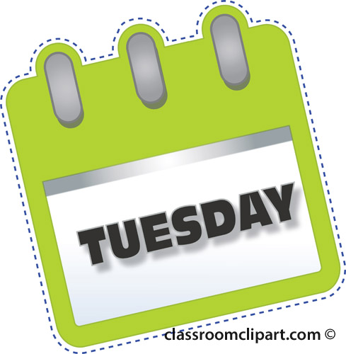 Go Back > Gallery For > Tuesday Clip Art