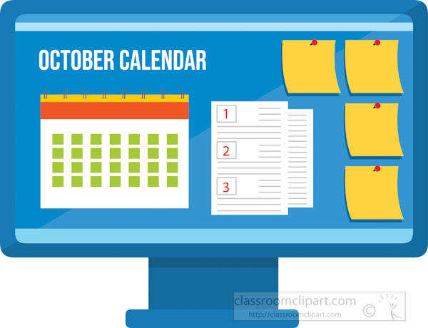 october-calendar-with-post-notes-on-computer-screen-clipart.jpg