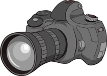 free camera clipart clip art pictures graphics illustrations rh classroomclipart com clipart of a camera lens clipart of a video camera