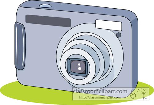 Camera Clipart - compact_digital_camera - Classroom Clipart